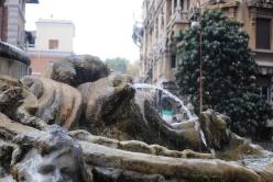 Fontana delle Rane - dettaglio